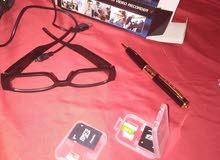 lunette caméra et stylo camra