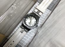 swatch white watch ساعة سواتش بيضا