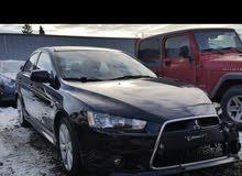 لانسر GT موديل  2014  وارد  امريكي   بحادثها الشراء عن طريق الحجز