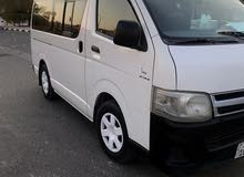 For a Month rental period, reserve a Toyota Hiace 2011