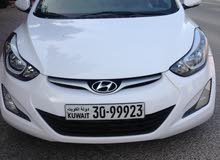White Hyundai Elantra 2016 for sale