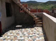 منزل للبيع+بقعة ارضية- بن صميم ازرو