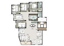 شقه للبيع بالتقسيط شقة 343 متر في امتداد غرب الجولف