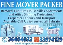 House Shifting in All over Bahrain good price