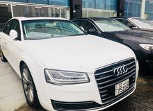 km mileage Audi A8 for sale