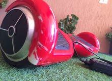 اسكوتر  احمر  مستعمل 1اشهر يعمل بالكهرباء وهو في حاله ممتازه