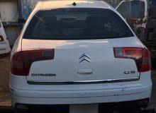 White Citroen C5 2009 for sale