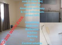 استديو للايجار ///studio for rent /// BD 200 WITH EWA