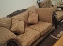 كنب خشب مصري 9 مقاعد بحاله الوكاله