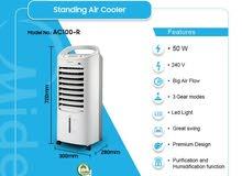 ميديا مبرد هواء لايت (AC100-R)   The Midea Air Cooler Lite - تنفس هواء منعش.