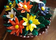 ana ba3mol fleurs ceramique