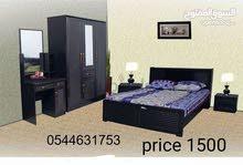 تختلف غرفة نوم قوية للبيع كل لون متاح مثل اللون الأسود والعديد من الأسعار 1300 ف