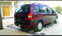 km mileage Opel Zafira for sale