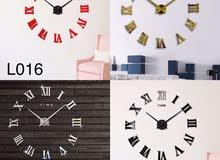 Modern 3D wall clock