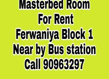 Masterbed Room For Rent ferwaniya