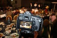 تصوير حفلات وجلسات عرسان كاميرات full hd