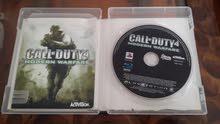 لعبة Call Of Duty 4 مستعملة