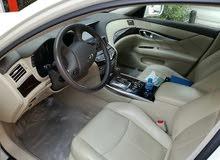 للبيع سيارة إنفينتي m37 2011 الحالة : مستعمل  نوع ناقل الحركة : إوتوماتيك  اللون