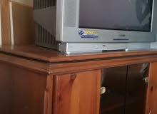 خزانة تلفزيون مع تلفزيون