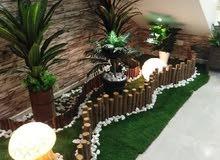 تصميم تنسيق الحدائق عندما تريد التميزفى حديقة منزلك او سطح بيتك  وعندما تريد الأ