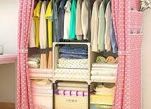 خزانة قماش واجهة برداية ألوانها رايقة وحلوة