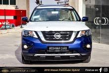 نيسـان باثفاينـــــدر هايبرد 2018 Nissan Pathfinder Hybrid