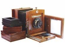 كاميرة انتيكة عمرها 100 عام