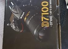 nikon d7100 with lense and bag