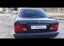 Automatic Blue Mercedes Benz 1999 for sale