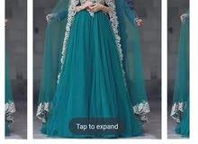 فستان سهرة  نفاش قياس 44.42
