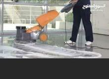 تنظيف الفلل المجالس الملاحق بعد تشطيب