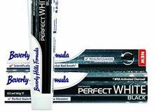 Beverly Hills Formula Perfect White Black Toothpaste 125 mL, 165 g
