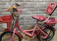 دراجة بنات وردية