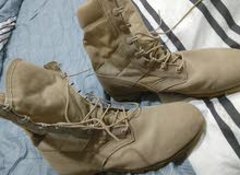 3 Army shoes, original American made 7.5/ 10 / 10.5 حذاء جيشي امركي الصنع جوده ع