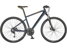 SCOTT Mens Sub Cross E. Bike M SIZE Dark Blue