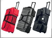 حقيبة سفر حجم كبير لون أحمر