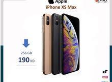 ايفون  xs max مساحة 256جيجا اصلي