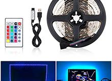 5meter rgb led strip light with USB.