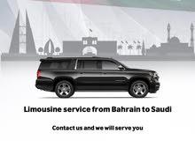 Bahrain to KSA/ KSA to Bahrain Limo Service