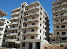 شقة على الهيكل في أشرفية الوادي مجمع جديدة الشام السكني طابق خامس