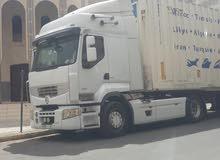 سائق شاحنة الوزن الثقيل