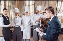 Manager of restaurants, hotels and butcheries...مدير مطاعم و ملاحم و فنادق خبرة