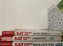 barrons book sat subjects
