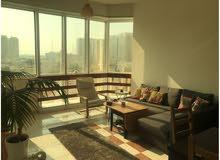 شقة واسعة غرفة وصالة في قلب أبوظبي