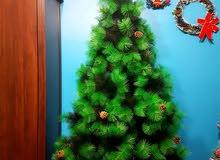 شجرة صنوبر كثيف فاخر صناعي 180 سم جديدة للبيع new 180cm Christmas artificial tre