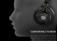 Bluedio T3 Plus Bluetooth V4.1 Headphones 3D Sound Effect Design - BLACK .