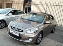 Hyundai Accent 2014 For sale - Brown color