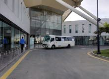 For a Monthly rental period, reserve a Toyota Coaster 2013