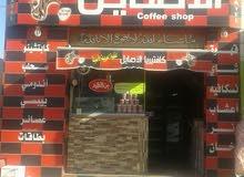 قهوه للبيع في مرج الحمام على شارع رئيسي