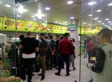 مطعم شاورما وسناكات وبروستد ومشاوي للبيع